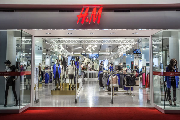 H&M Store in Mexiko