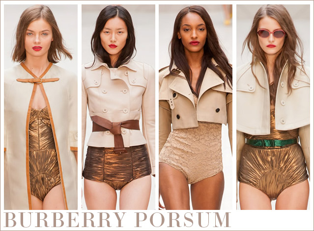 Burberry Prorsum – Ein neuer Trend am Beachwear-Himmel