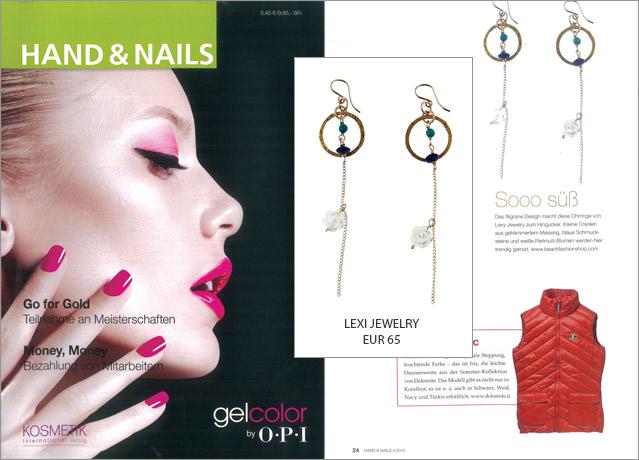 Hang on! Diese Ohrhänger von Lexi Jewelry müssen Sie sehen