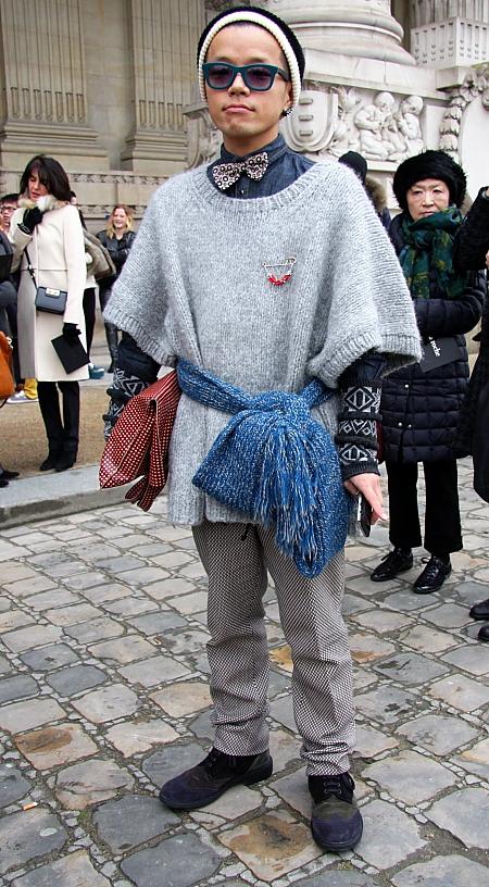 Modepilot-Streetstyle-Mann-Asiate-Schal-Gürtel-Barbara Markert-Mode-Blog