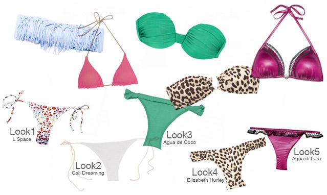 Bikinis 2013 – 5 Trends, die Sie dieses Jahre haben sollten
