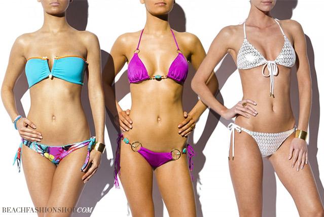 Sexy Bikinis sorgen an den Stränden für jede Menge Aufsehen