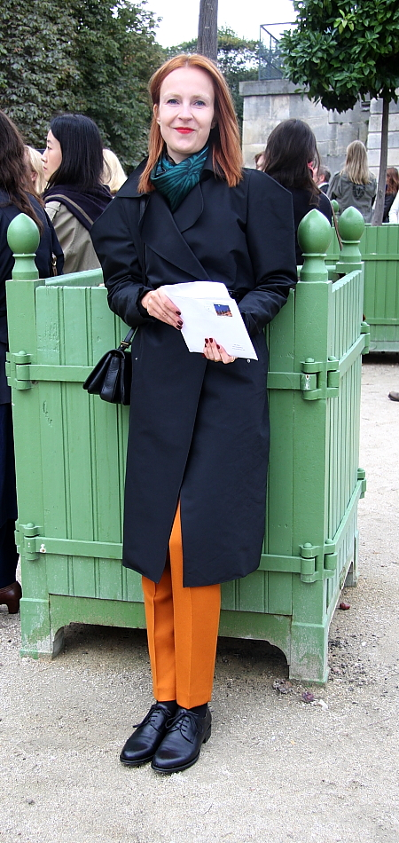 Modepilot-Streetstyle-orange Hose-Fashionweek-paris-Mode-Blog-Barbara Markert