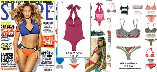 Shape-Beachwear: Dieser Badeanzug von Agua de Coco bringt Ihr Dekolletee in Form