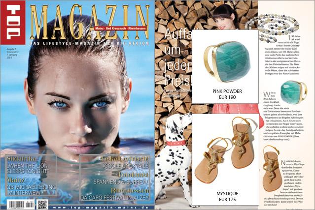 Luxus Accessoires, die nicht nur das Top Magazin zum Schwelgen bringen