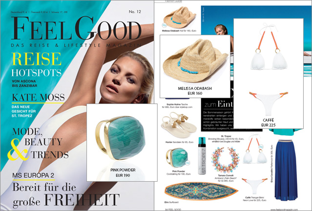 Feel Good, look better! Drei Beachwear Must Haves für Ihren Luxus-Urlaub
