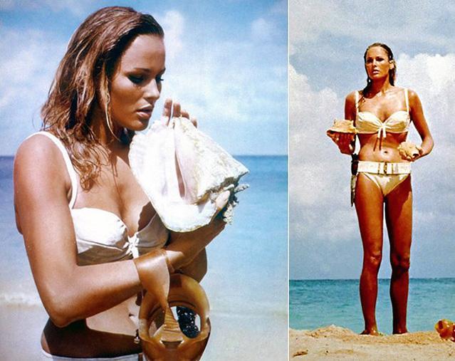 Bond- und Bikini-Girl Ursula Andress