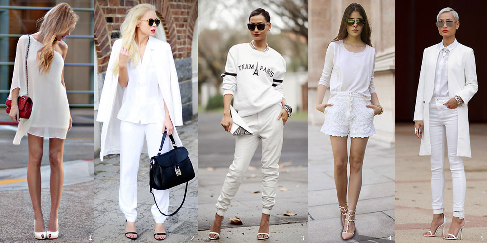 All-in-White