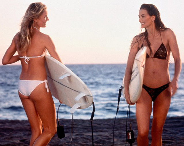 Bikini-Girls: Demi Moore vs. Cameron Diaz