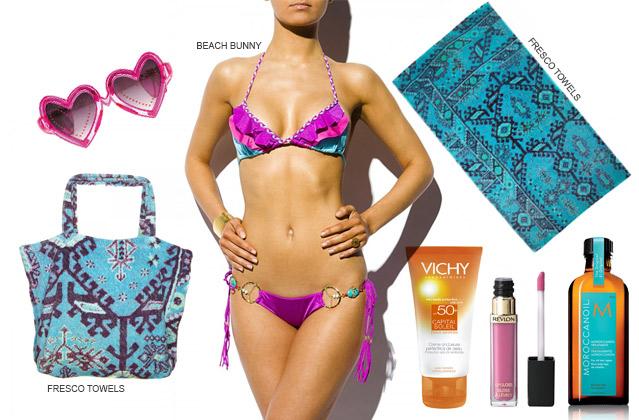 Pack your Beachbag: Must Haves für die Strandtasche