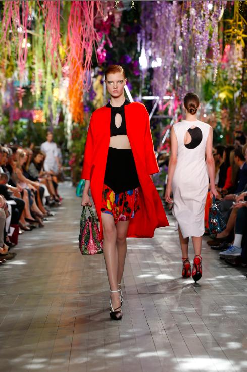 Dior Catwalk Modepilot Summer 2014