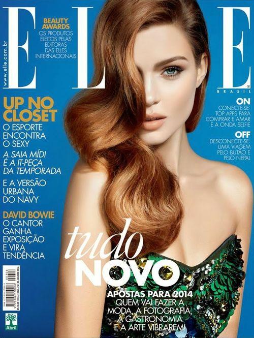 Josephine Skriver for Elle Brazil January 2014
