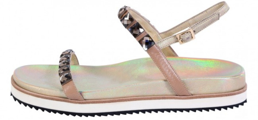 SCHUMACHER SPRING SUMMER 2014_CRYSTAL CRAZE_SANDAL_GOLDEN SHINE