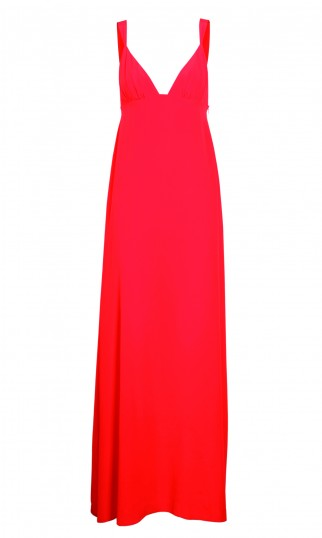 SCHUMACHER SPRING SUMMER 2014_PRETTY STARS_LONG DRESS_POP RED