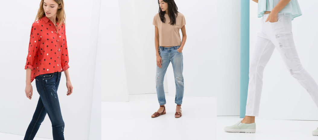 Jeanshosen Zara Modepilot