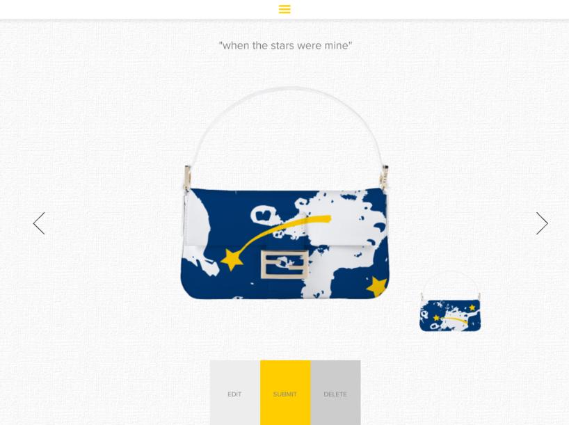 My Baguette bag App Fendi Modepilot