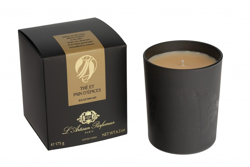 ThÇ et Pain d'Epices 175g candle + pack