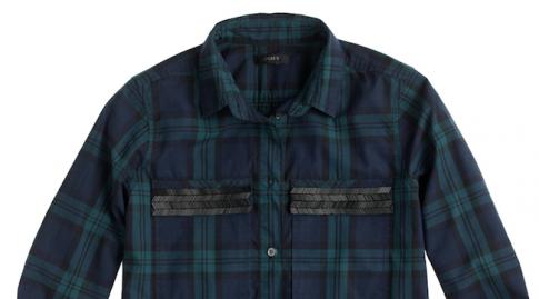 J.Crew Shirt blue Modepilot