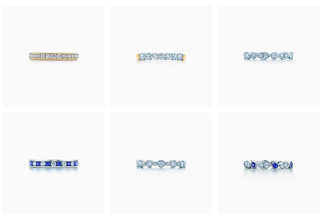 Bandringe Eheringe Tiffany & Co. Modepilot Ehering
