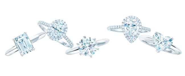 Tiffany & Co. Diamantringe Modepilot Valentinstag Verlobung