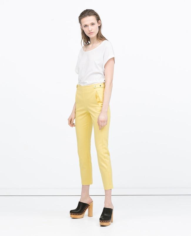 Zara Spring Summer 2015 Hose Modepilot Schwangerschaftsmode