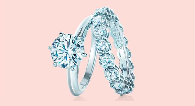 Tiffany & Co. Verlobungsring Ehering Set Modepilot