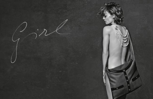 Chanel Girl bag Vanessa Paradis Modepilot 2015 campaign