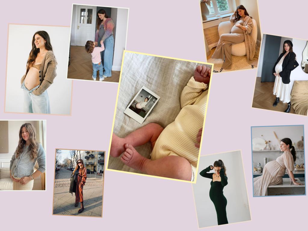 Jessies Schwangerschaftslooks im Überblick
