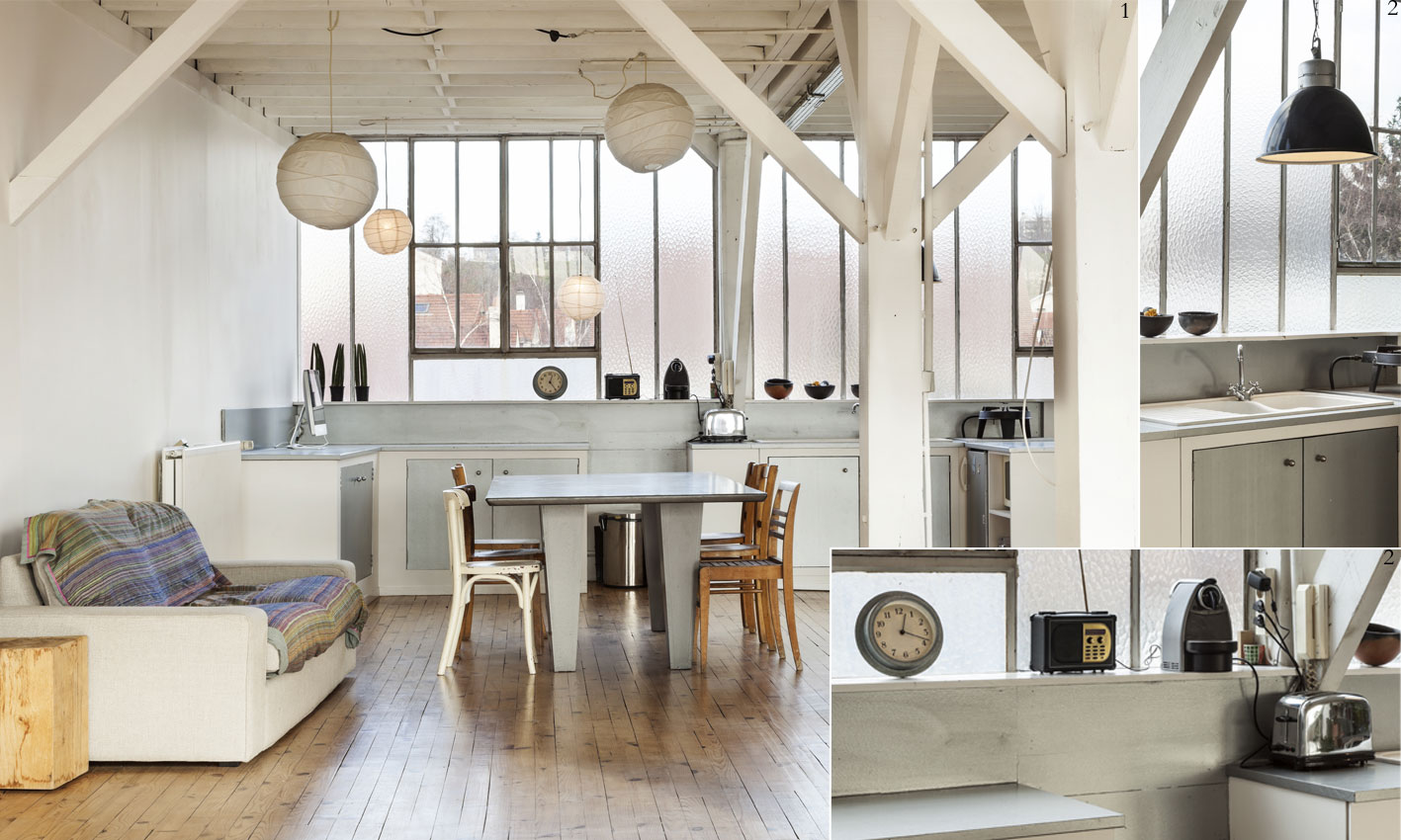 Stahl, Holz & Co. – Industrial style