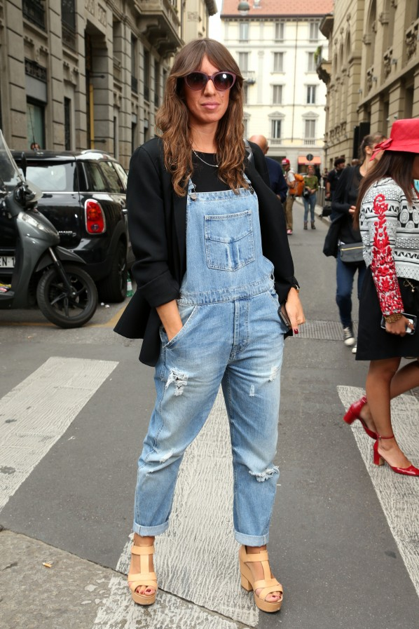 Big-Fashion-Trend in Paris: Latzhosen