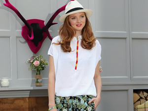 Lily Cole: Moralische Mode