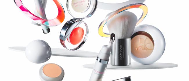 Raumkapsel Make-up von Courrèges & Estée Lauder
