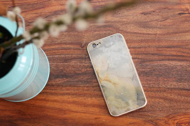 Fundstück: iPhone 6 Case  aus Naturstein