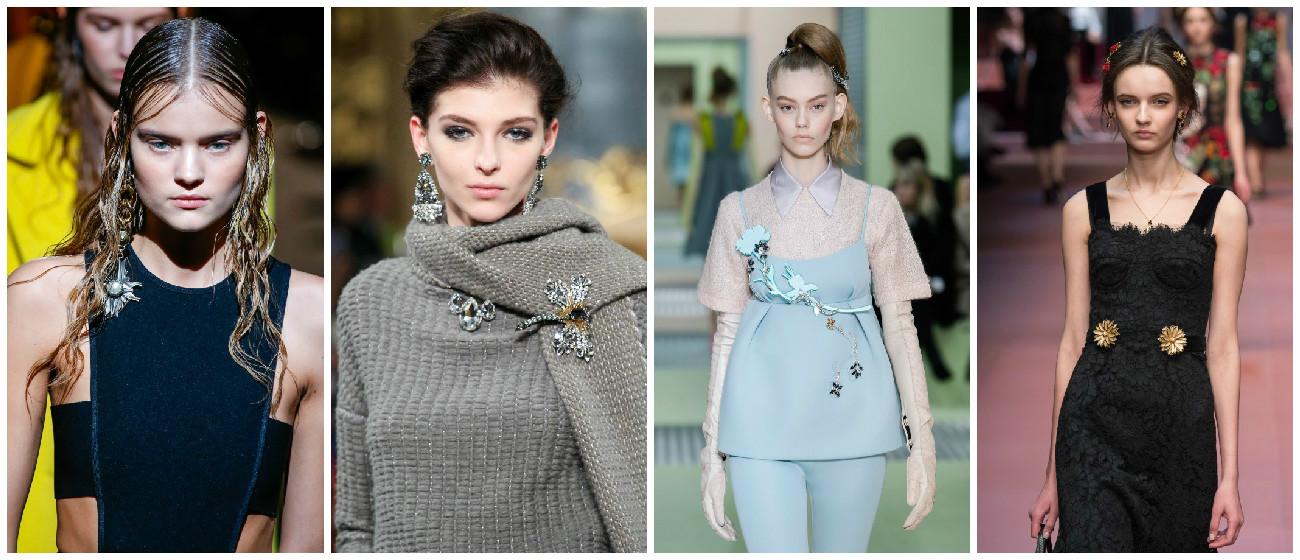 Accessoire-Trend: Brosche statt It-Bag?