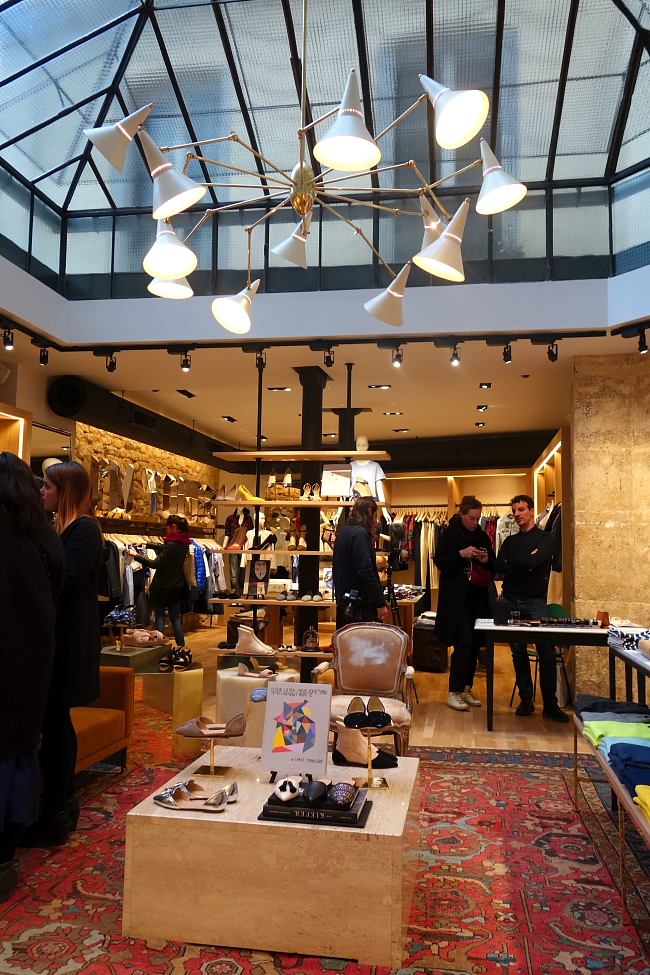 Exklusive Einblicke in den J.Crew Shop in Paris