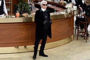 """Karl Lagerfeld: Chanel-Show zielte auf einen """"großen Effekt"""""""