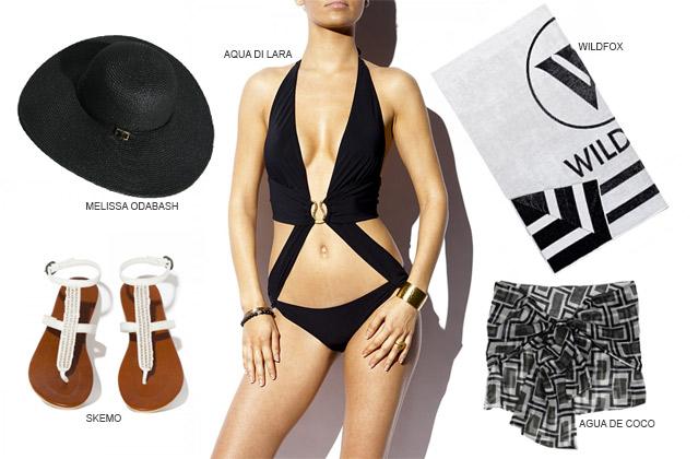 Poolside Chic: Versprühen Sie Glamour am Pool