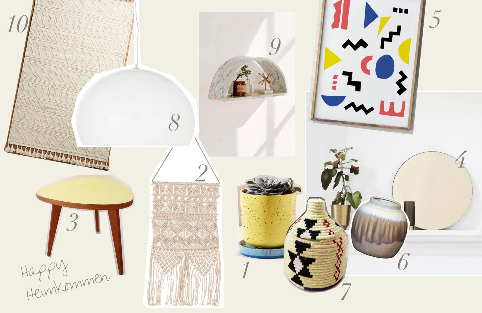 TOP10 Interior Accessoires: So wird aus jedem dunklen Flur ein heller happy Place!
