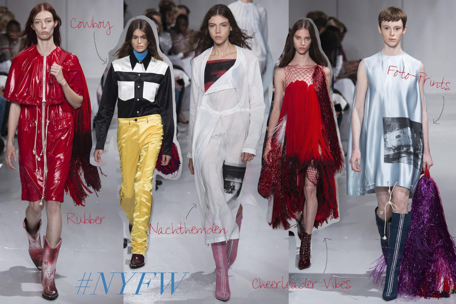 #NYFW: Die amerikanische Horrorstory von Raf Simons für Calvin Klein