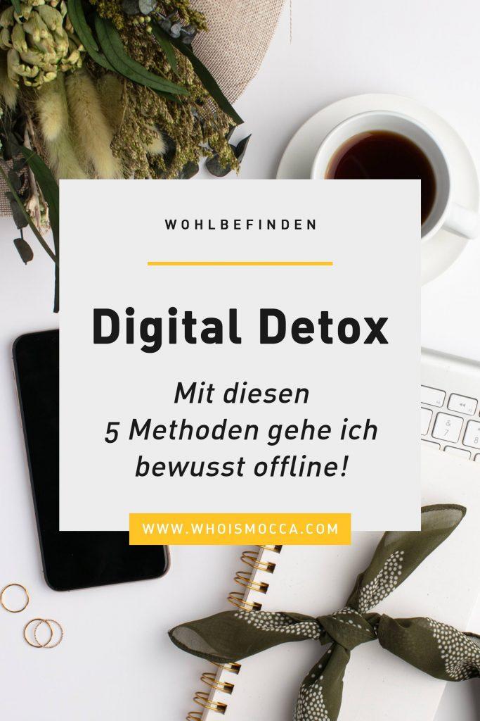 Digital Detox: Mit diesen 5 Methoden gehe ich bewusst offline!